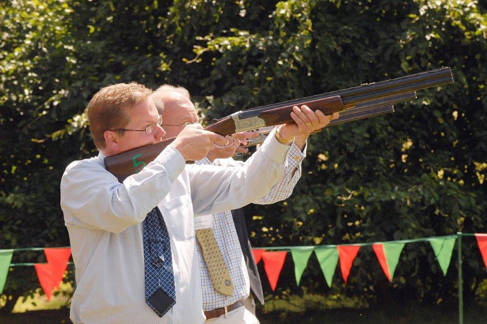 Business Breakout Laser Clay Shooting